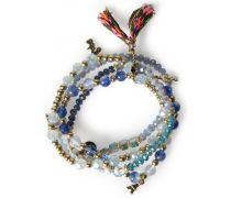 Armband Mit Glasperlen Blue