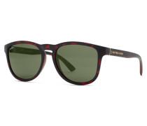 Sonnenbrille Soho Matt Dark Tortoise Green