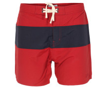 Two-Tone Badeshorts Grant Red