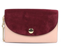 Saddle Clutch Bordeaux/Pink