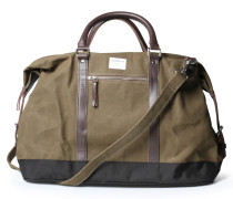 Weekender Jordan aus Canvas Waxed Olive