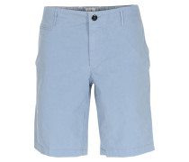 Baumwoll-shorts In Hellblau