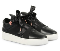 Sneakers Mountain Cut Leather Schwarz