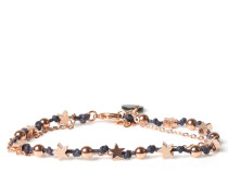 Armband Be Shiny Dunkelblau/roségold