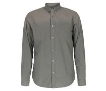 Baumwoll-hemd Mit Farbverlauf Faded Green