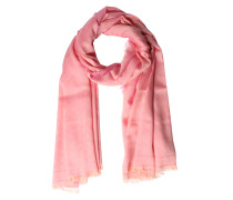 Woll-modal-mix Tuch Rose
