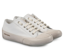 Sneakers Rock Tamponato Bianco