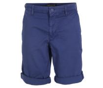 Baumwoll-Shorts Brink Mittelblau