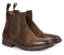 Chelsea-Boots Spike-Softy Oliva