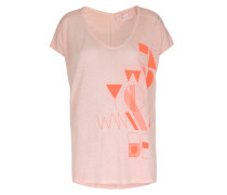 Shirt im Baumwoll-Mix Zappi The Shirt Powder Pink Neon