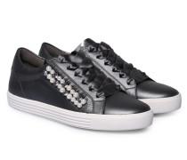 Sneakers Town mit Schmuck-Details Anthra Metallic