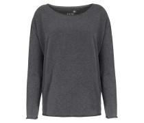 Leichter Sweater Mit Boxy-schnitt Und Rollsaum