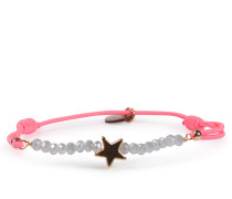 Armband Real Star Gold Neon Pink