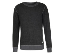 Woll-mix Pullover Dunkelgrau