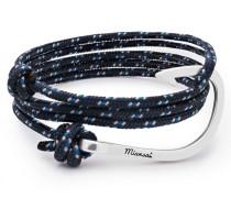 Wickelarmband Mit Haken Indigo Blue