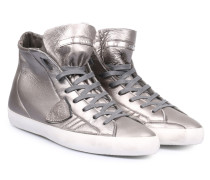 Sneakers Paris CLHD Graphit in Silber Metallic