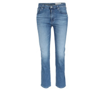 High Waist Jeans The Jodi Crop Side Slit