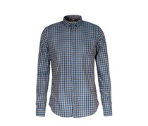 Baumwollhemd Mit New Kent-kragen