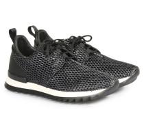 Sneakers Mesh Kontrast Black
