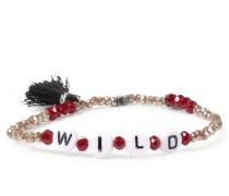 Armband Wild Taupe/berry