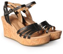 Wedges Brigitte Mit Keilabsatz In Kork-optik