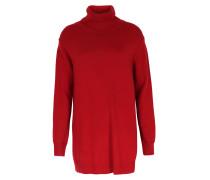 Rollkragen-pullover Im Woll- Cashmere-mix Red