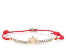 Armband Real Star Gold Red