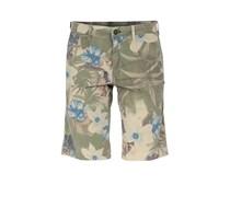 Baumwoll-shorts Mit Blumenprint
