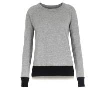 Wollpullover Mit Cashmere Grey