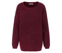 Pullover im Woll-Alpaka-Mix Merlot