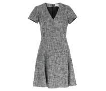 Kleid In Salz- Und Pfeffer-optik