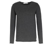 Cashmere-pullover Mit Rollkante Anthra
