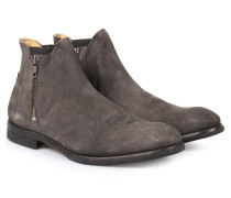 Chelsea Zipper Boot Mitchell Charcoal