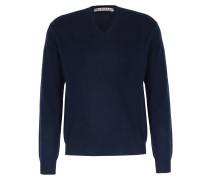 Cashmere-Pullover mit V-Ausschnitt