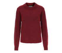 Pullover Brook im Mohair-Woll-Mix Pomegranate