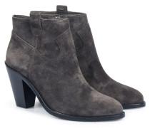 Veloursleder-ankle-boots Bistro