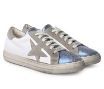 Sneakers Crintex Blu Velour