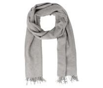 Schal Im Woll-cashmere Mix Grey