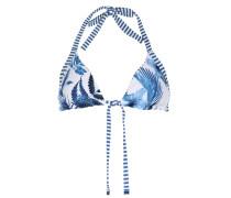 Wende-bikini-top Tropic Coast Weiß/blau