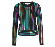 Pullover Arisha mit Laser Streifen