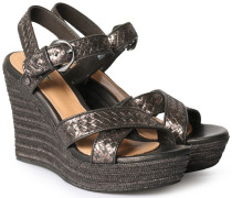 Wedges Jazmine Metallic Black