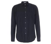 Slim-Fit Hemd Sammy aus feinem Cord Carbone