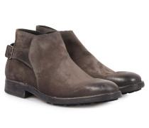 Veloursleder-boots Stuart Softy Lavagna