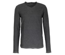 Leichter Strickpullover Mit Zick-zack Muster Grey/black