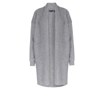 Long-cardigan Softwool Im Woll-mohair-mix