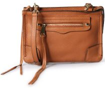Ledertasche Regan Crossbody Almond Gold