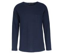 Baumwoll-langarm Shirt Laska Navy