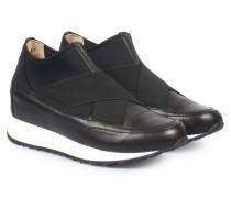 Slip-on-sneaker Mid Elastic Souvage Nero