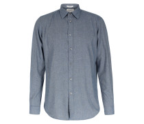 Baumwollhemd Sammy Woven Navy Flannel