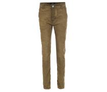 Slim-Leg Jeans Paulo Pavia Burned Oliv